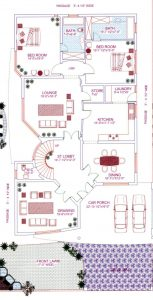 20 marla house design plan